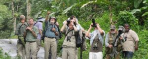 Group Birding in Trinidad by Dodie Logue